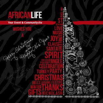 Africanlife wishes you a merry christmas & a happy new year